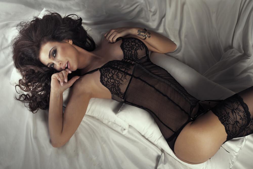 Lingerie photographic female models